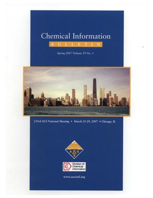 Primary view of object titled 'Chemical Information Bulletin, Volume 59, Number 1, Spring 2007'.