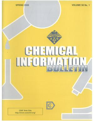 Primary view of object titled 'Chemical Information Bulletin, Volume 58, Number 1, Spring 2006'.