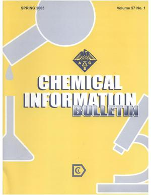 Primary view of object titled 'Chemical Information Bulletin, Volume 57 Number 1, Spring 2005'.