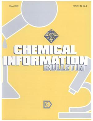 Primary view of object titled 'Chemical Information Bulletin, Volume 52, Number 2, Fall 2000'.