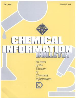 Primary view of object titled 'Chemical Information Bulletin, Volume 50, Number 2, Fall 1998'.