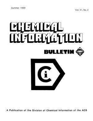 Primary view of object titled 'Chemical Information Bulletin, Volume 41, Number 2, Summer 1989'.