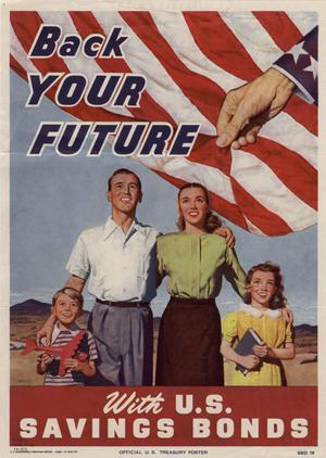 Back your future with U.S. savings bonds.