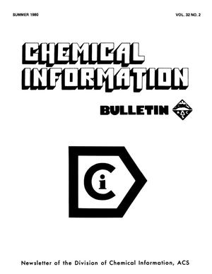 Chemical Information Bulletin, Volume 32, Number 02, Summer 1980
