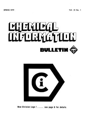 Primary view of object titled 'Chemical Information Bulletin, Volume 31, Number 1, Spring 1979'.