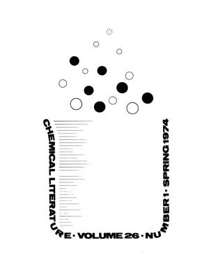 Primary view of object titled 'Chemical Literature, Volume 26, Number 1, Spring 1974'.