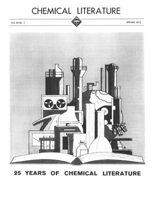 Primary view of object titled 'Chemical Literature, Volume 25, Number 1, Spring 1973'.