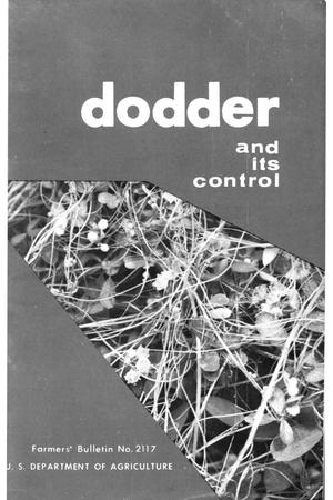 Primary view of object titled 'Dodder and its control.'.