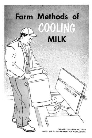 Primary view of object titled 'Farm methods of cooling milk.'.