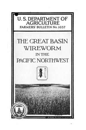 Primary view of object titled 'The Great Basin wireworm in the Pacific Northwest.'.