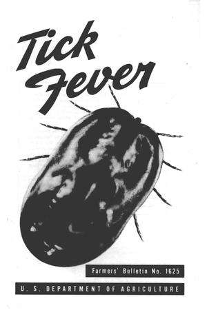 Primary view of object titled 'Tick fever.'.