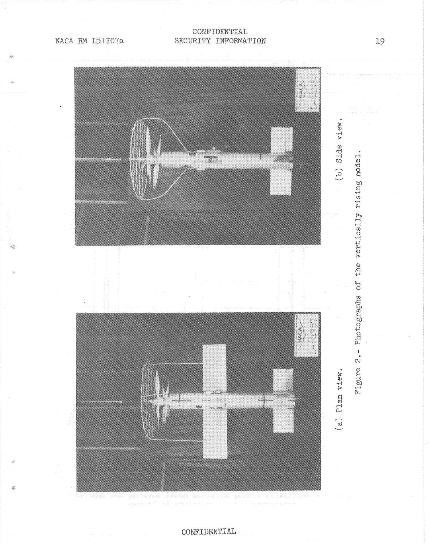 Additional studies of the stability and controllability of an unswept-wing vertically rising airplane model in hovering flight including studies of various tethered landing techniques                                                                                                      [Sequence #]: 20 of 27
