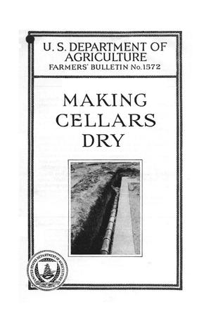 Primary view of object titled 'Making cellars dry.'.