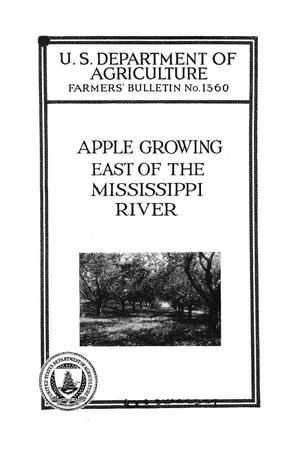 Primary view of object titled 'Apple growing east of the Mississippi River.'.