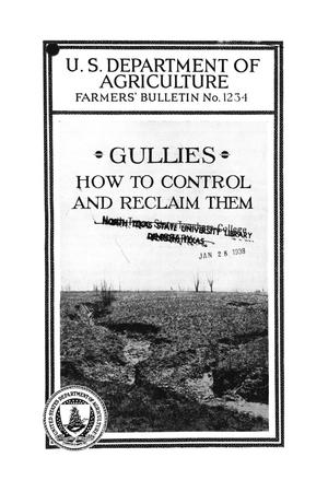 Gullies : how to control and reclaim them.