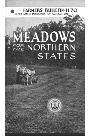 Primary view of object titled 'Meadows for the northern states.'.