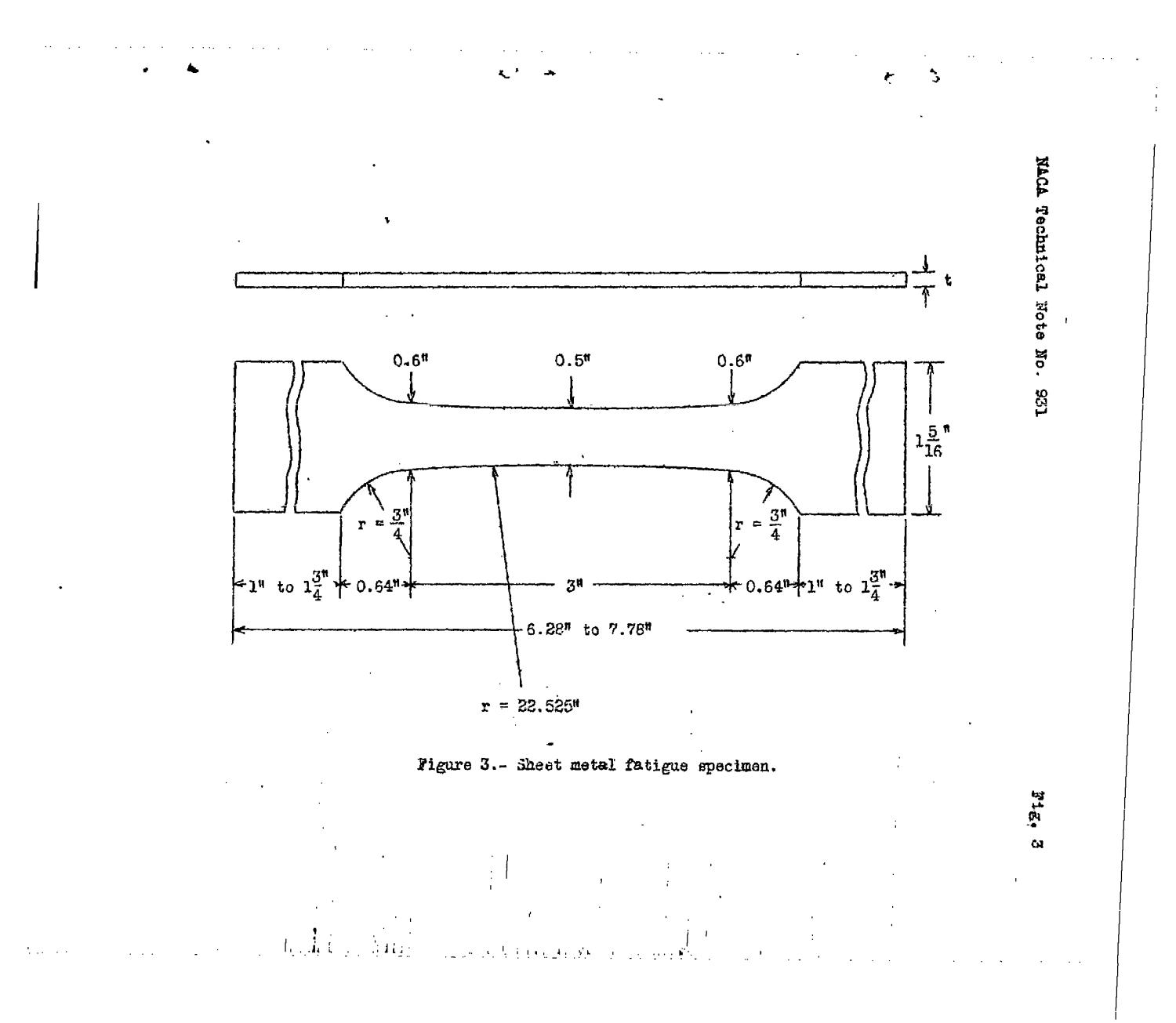 Guides For Preventing Buckling In Axial Fatigue Tests Of Thin Sheet-metal Specimens