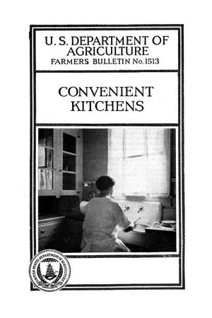 Primary view of object titled 'Convenient kitchens.'.
