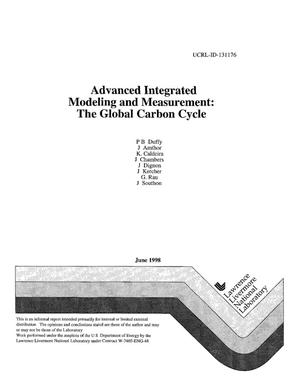 Primary view of object titled 'Advanced integrated modeling and measurement: The global carbon cycle'.