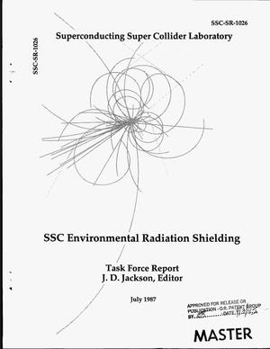 Primary view of object titled 'SSC environmental radiation shielding'.