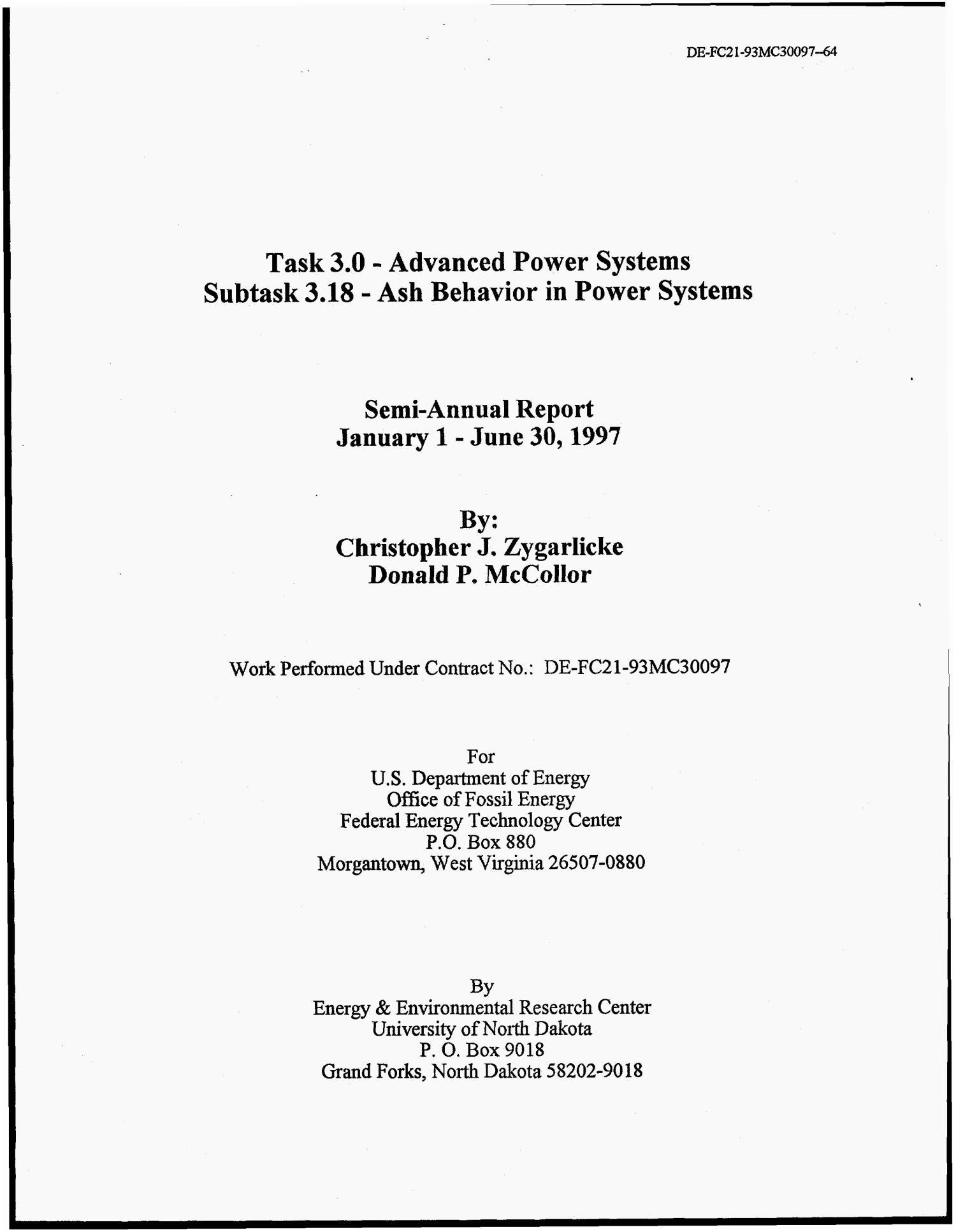 Task 3 0 Advanced Power Systems Subtask 3 18 Ash Behavior in