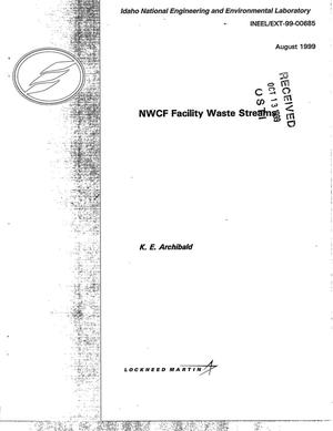 Primary view of object titled 'New Waste Calcining Facility (NWCF) Waste Streams'.