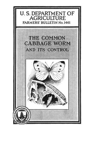 Primary view of object titled 'The common cabbage worm and its control.'.
