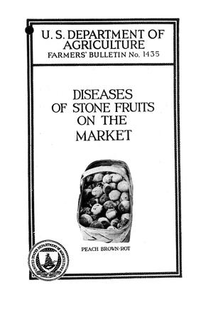 Primary view of object titled 'Diseases of stone fruits on the market.'.