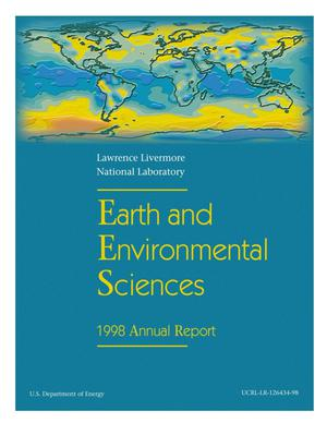 Primary view of object titled 'Earth and environmental sciences annual report 1998'.