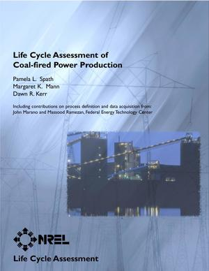 Primary view of object titled 'Life Cycle Assessment of Coal-fired Power Production'.