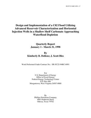 Primary view of object titled 'Design and Implementation of a C02 Flood Utilizing Advanced Reservoir Characterization and Horizontal Injection Wells in a Shallow Carbonate Approaching Waterflood Depletion'.