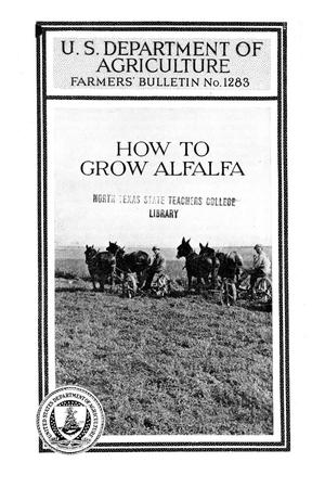 Primary view of object titled 'How to grow alfalfa.'.