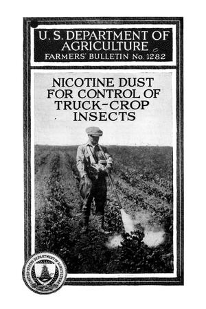 Primary view of object titled 'Nicotine dust for control of truck-crop insects.'.