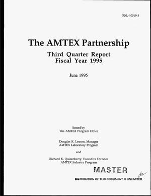 Primary view of object titled 'The AMTEX Partnership. Third quarterly report, FY 1995'.