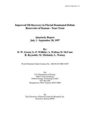 Primary view of object titled 'Improved Oil Recovery in Fluvial Dominated Deltaic Reservoirs of Kansas - Near-Term'.