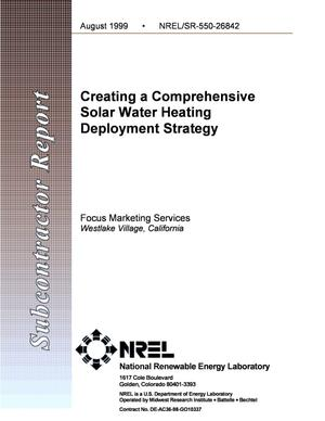 Primary view of object titled 'Creating a Comprehensive Solar Water Heating Deployment Strategy'.
