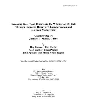 Primary view of object titled 'Increasing Waterflood Reserves in the Wilmington Oil Field Through Improved Reservoir Characterization and Reservoir Management'.