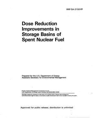 Primary view of object titled 'Dose reduction improvements in storage basins of spent nuclear fuel'.