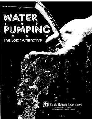 Primary view of object titled 'Water Pumping: The Solar Alternative'.