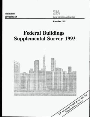 Primary view of object titled 'Federal Buildings Supplemental Survey 1993'.