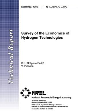 Primary view of object titled 'Survey of the Economics of Hydrogen Technologies'.