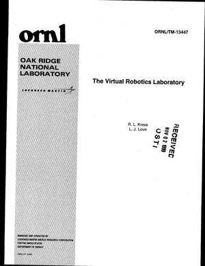 Primary view of object titled 'The Virtual Robotics Laboratory'.
