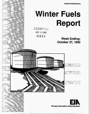 Primary view of object titled 'Winters fuels report'.
