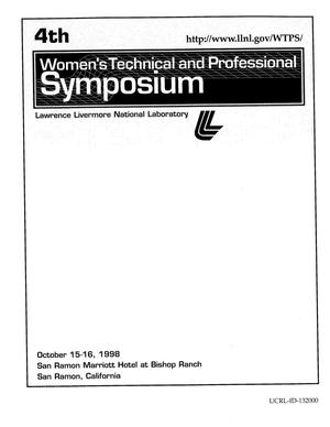 Primary view of object titled 'Women's technical and professional symposium'.