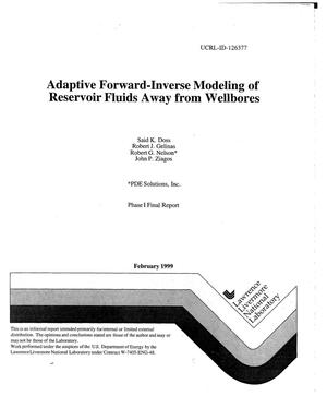 Primary view of object titled 'Adaptive forward-inverse modeling of reservoir fluids away from wellbores'.