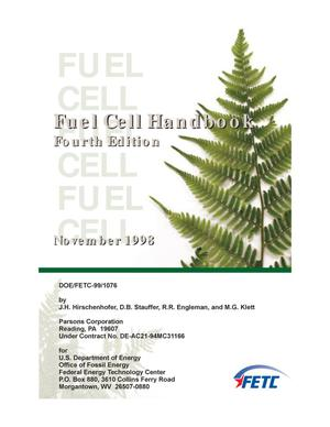 Primary view of object titled 'Fuel Cell Handbook, Fourth Edition'.