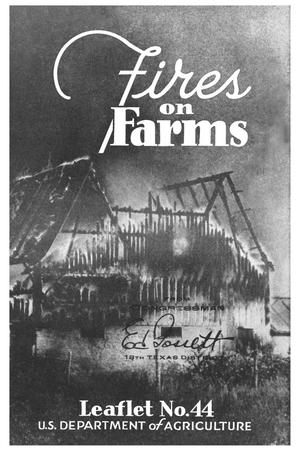Primary view of object titled 'Fires on Farms.'.