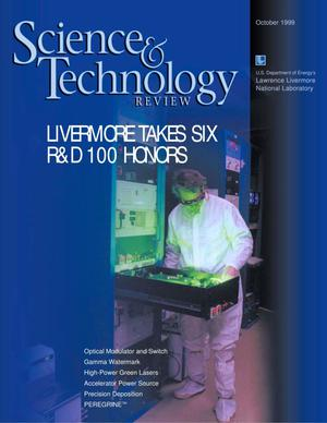 Primary view of object titled 'Science and Technology Review October 1999'.
