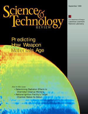 Primary view of object titled 'Science and Technology Review September 1999'.