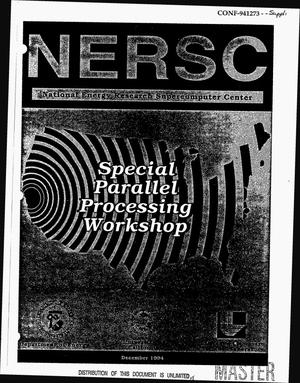 Primary view of object titled 'Special parallel processing workshop'.